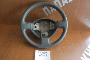 Fiat Panda 2003-2012 βολάν τιμονιού γκρι