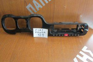 Fiat Panda New 2012-2017 πλαίσιο καντράν μαύρο