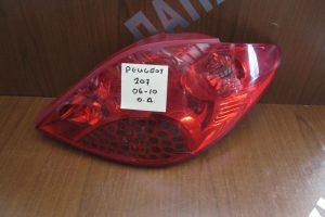 Peugeot 207 3/5θυρο 2006-2010 φανάρι πίσω δεξιό
