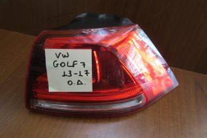 VW Golf 7 2013-2017 φανάρι πίσω δεξί 5/3θυρο