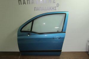 Chevrolet Matiz 2005-2009 πόρτα εμπρός αριστερή μπλε