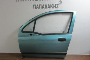 Chevrolet Matiz 2005-2009 πόρτα εμπρός αριστερή πράσινο ανοιχτό