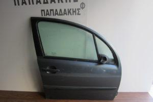 Citroen C3 2002-2009 πόρτα εμπρός δεξιά γκρι