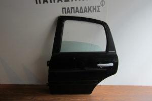 Citroen C3 2002-2009 πόρτα πίσω αριστερή μαύρη