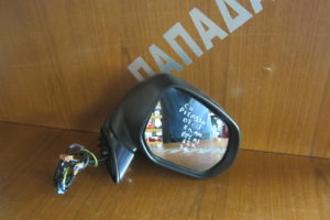 Citroen C4 Picasso 2007-2013 καθρέπτης δεξιός ηλεκτρικά ανακλινόμενος μπλε σκούρο φως ασφαλείας 12 καλώδια 3 φις