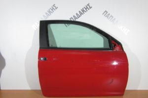 Lancia Ypsilon 2003-2011 πόρτα δεξιά δίπορτη κόκκινη