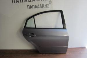 Mazda 6 2002-2008 πόρτα πίσω δεξιά ασημί σκούρο Sedan