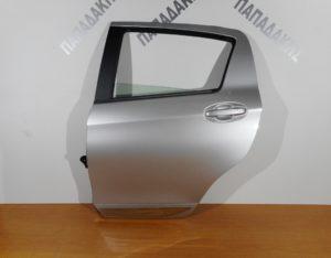 Toyota Yaris 2017-> πόρτα πίσω αριστερή ασημί  (φάσα χρώμιο)