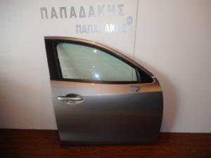 Mazda 2 2014-2018 πόρτα εμπρός δεξιά γκρι ανοιχτό