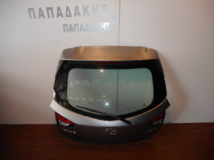 Mazda 2 2014-2018 πόρτα πίσω 5η γκρι ανοιχτό