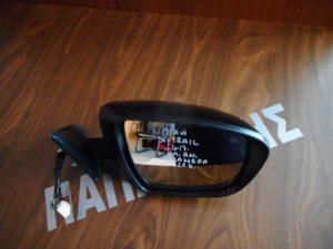 Nissan X-Trail 2014-2017 καθρέπτης δεξιός ηλεκτρικά ανακλινόμενος 13 καλώδια μαύρος