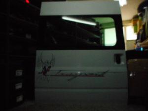 Ford Transit 2006-2013 πόρτα πλαινή δεξιά άσπρη συρόμενη,ύψος 1.80.