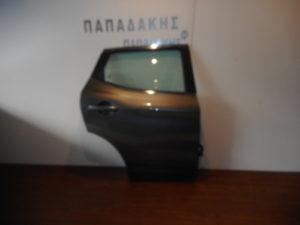 Nissan Qashqai 2013-2017 πόρτα πίσω δεξιά γκρι