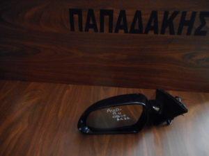 Audi A4 2008-2010 αριστερός καθρέπτης ηλεκτρικός μαύρος 6 καλώδια