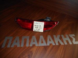 Lancia Musa 2008-2012 φανάρι πίσω προφυλακτήρα πίσω αριστερό
