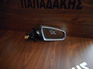 Audi A4 2001-2008 δεξιός καθρέπτης ηλεκτρικός ασημί 5 καλώδια