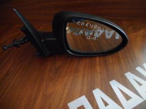 Chevrolet Aveo 2012-2017 δεξιός καθρέπτης μηχανικός άβαφος