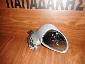Citroen C4 2004-2011 αριστερός καθρέπτης ηλεκτρικός ασημί 5 καλώδια