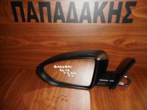 Nissan Qashqai 2006-2013 αριστερός καθρέπτης ηλεκτρικά ανακλινόμενος άβαφος 7 καλώδια