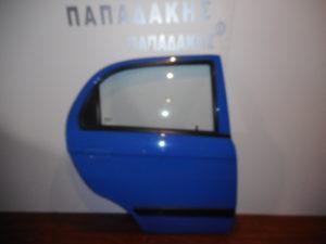 Chevrolet Matiz 2005-2009 πίσω δεξιά πόρτα μπλε