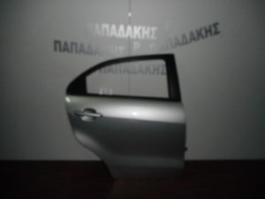 Kia Rio 2012-2017 5θυρο πόρτα πίσω δεξιά ασημί