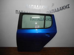 Skoda Fabia 2007-2014 5θυρο πόρτα πίσω αριστερή μπλε