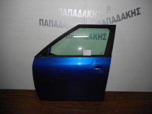 Skoda Fabia 2007-2014 πόρτα εμπρός αριστερή μπλε