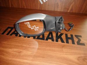 Citroen C3 2002-2009 ηλεκτρικά ανακλινόμενος καθρέπτης αριστερός ασημί 7 καλώδια