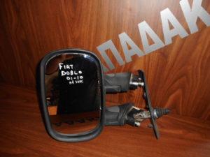 Fiat Doblo 2001-2010 μηχανικός καθρέπτης αριστερός άσπρος