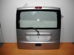 Fiat Doblo 2005-2010 πόρτα οπίσθια ασημί