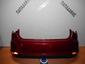 Fiat Tipo 5Θυρο 2016-2018 πίσω προφυλακτήρας κόκκινος με αισθητήρες