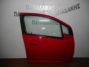 Chevrolet Spark 2010-2015 πόρτα εμπρός δεξιά κόκκινη
