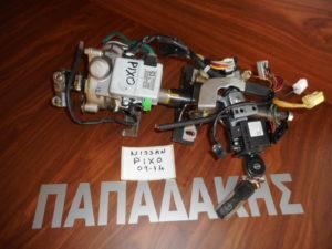 Nissan Pixo 2009-2014 τιμόνι ηλεκτρικό και με διακόπτη μίζας κωδικός: 38720-68K0