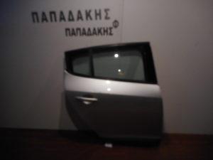 Renault Megane 5θυρο 2008-2016 πόρτα πίσω δεξιά ασημί