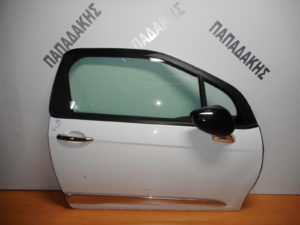 Citroen DS3 2010-2017 πόρτα δεξιά δύθυρη άσπρη