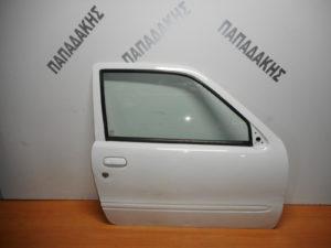 Fiat Seicento 1998-2007 πόρτα δεξιά δύθυρη άσπρη