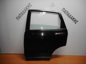 Honda CRV 2007-2013 πόρτα πίσω αριστερή μαύρη