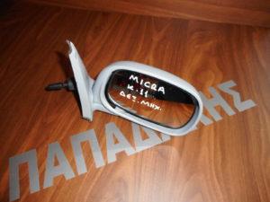 Nissan Micra K11 1993-2003 μηχανικός καθρέπτης δεξιός άβαφος