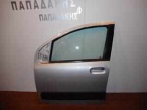 Fiat Panda New 2012-2018 πόρτα εμπρός αριστερή ασημί
