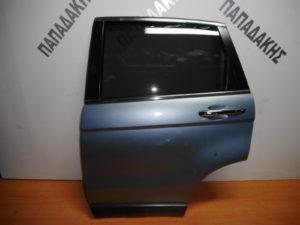 Honda CRV 2007-2013 πόρτα πίσω αριστερή γαλάζια