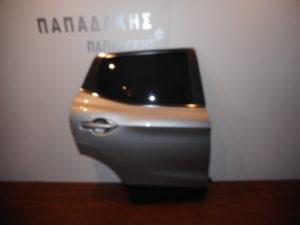 Nissan Qashqai 2013-2019 πόρτα πίσω δεξιά ασημί