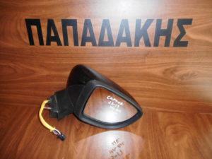 Renault Captur 2013-2017 ηλεκτρικά ανακλινόμενος καθρέπτης δεξιός μαύρος 11 καλώδια