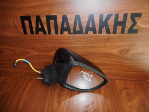Renault Captur 2013-2017 ηλεκτρικός καθρέπτης δεξιός μαύρος 9 καλώδια