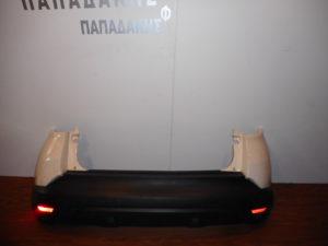 Renault Captur 2013-2017 πίσω προφυλακτήρας άσπρος με αισθητήρες