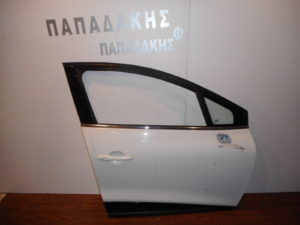 Renault Clio 2013-2017 πόρτα εμπρός δεξιά άσπρη