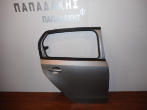Skoda Citigo 2012-2019 πόρτα πίσω δεξιά ασημί (χωρίς τζάμι)
