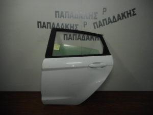 Ford Fiesta 2008-2017 πόρτα πίσω αριστερή άσπρη