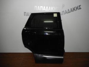 Range Rover Evoque 2011-2019 πόρτα πίσω δεξιά μαύρη φάσα με χρώμιο