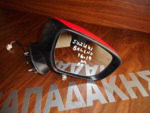 Suzuki Baleno 2016-2019 ηλεκτρικός καθρέπτης δεξιός κόκκινος 5 καλώδια