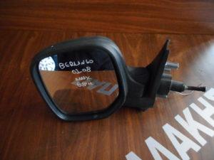 Citroen Berlingo 2002-2008 μηχανικός και θερμαινόμενος καθρέπτης αριστερός ασημί